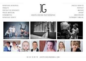 Portrait de joseph godian photographe