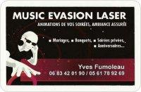 Portrait de music evasion laser