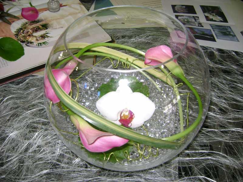 Centre de table 22 euros 1 4 forum mariage 31 - Vase en plastique pour centre de table ...