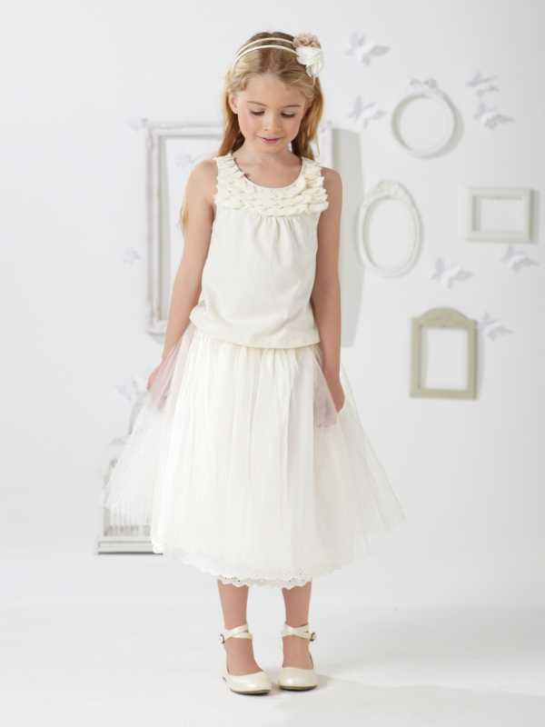 Robe de mariage fille 6 ans